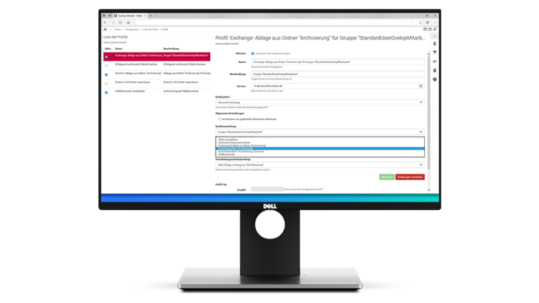 E-Mail-Management und Archivierung